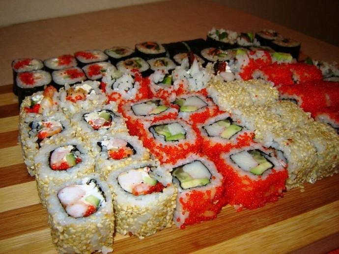 Как дома сделать суши