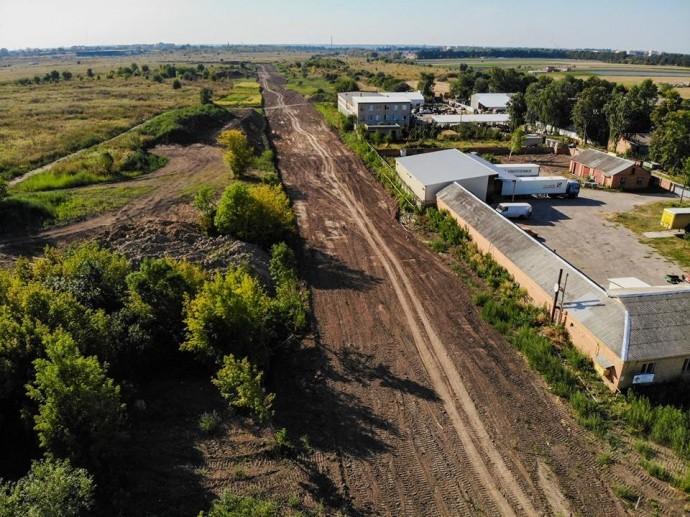 У Вінниці розпочали будівництво нової дороги (Фото)