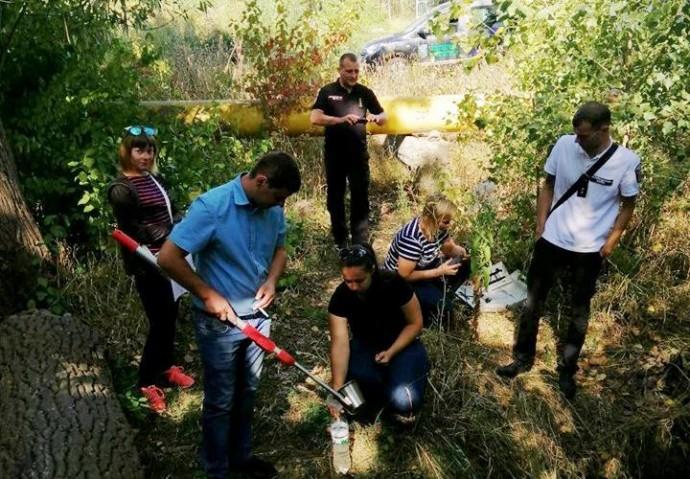 У річці Тяжилівці перевірили воду на забруднення