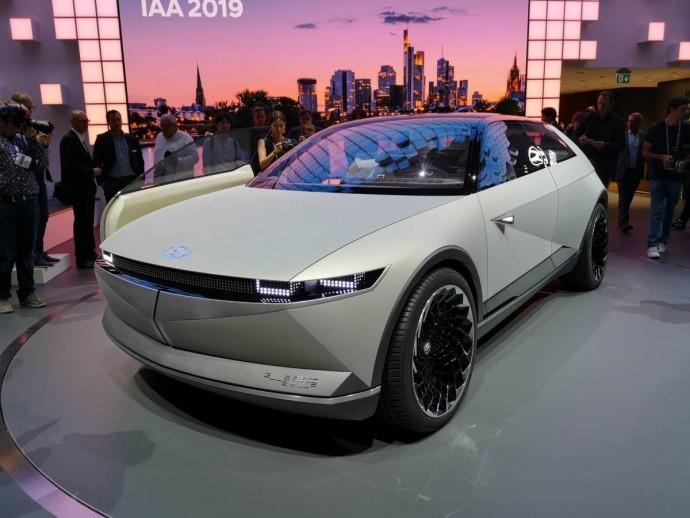Hyundai удивила потрясающим электромобилем