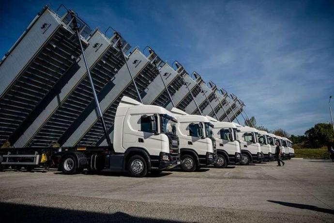 В Украине заключен крупнейший контракт на поставку грузовиков Scania
