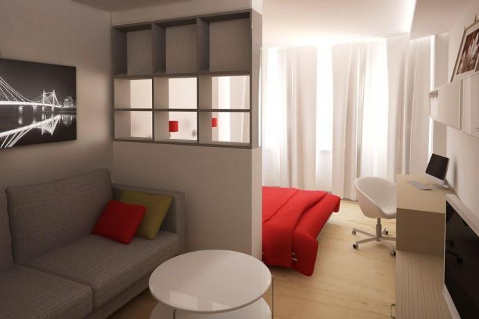 Как разделить две зоны в одной комнате