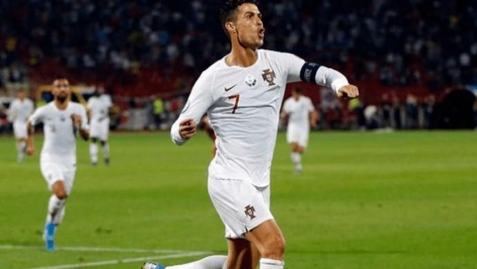 Роналду стал лучшим бомбардиром в истории отборов на Евро