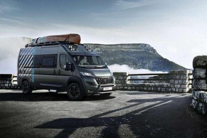 Концепт-кар Peugeot Boxer 4x4 Concept: авантюрист