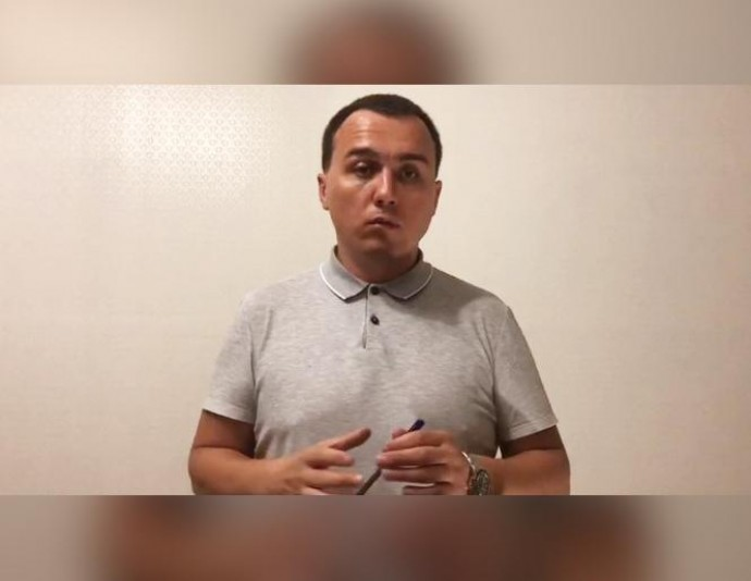 Чоловік, якого розшукують за стрілянину на АЗС у Зарванцях, записав звернення до Зеленського (Відео)