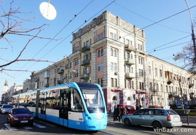 На День міста громадський транспорт у Вінниці стане безкоштовним, а Соборна- пішохідною