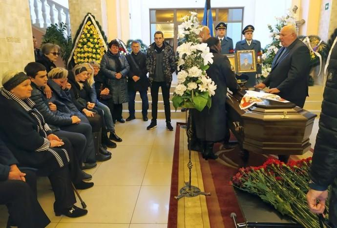 У Вінниці попрощались із командиром літака, який впав під Львовом (Фото)