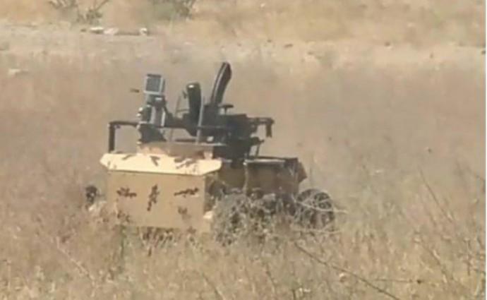 В Иране создали миниатюрных боевых роботов