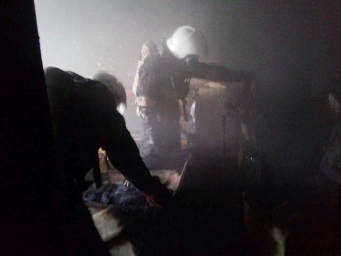 У Вінниці горіла квартира. Загинув чоловік