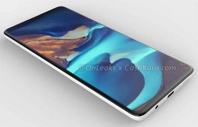 Смартфон Samsung Galaxy A71 с квадрокамерой на качественных рендерах