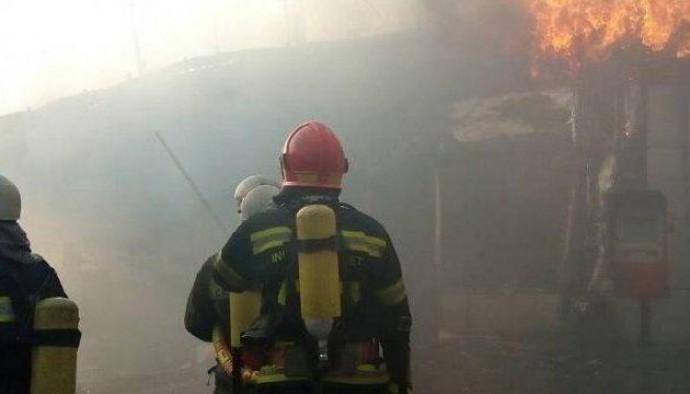 На одному з військових складів у Гайсині сталася пожежа