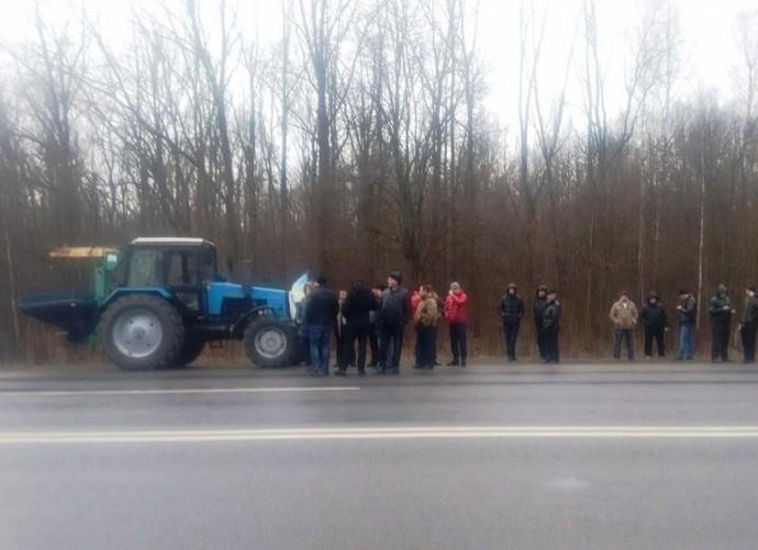 11 листопада аграрії обіцяють перекрити 3 дороги у Вінницькі обласні