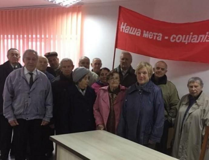 У Вінниці комуністи влаштували зібрання, присвячене жовтневому перевороту (Фото)