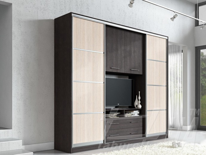 Как можно использовать шкаф купе в разных помещениях