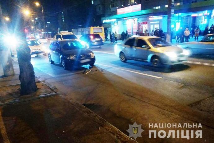 На Київській під колеса