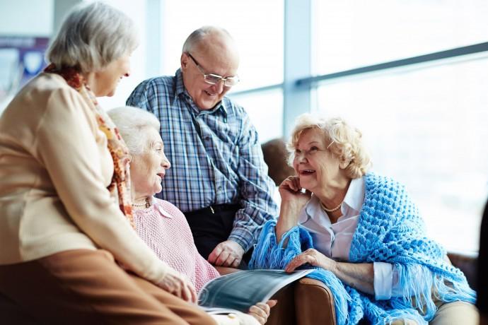 Профессиональная забота за пожилыми людьми