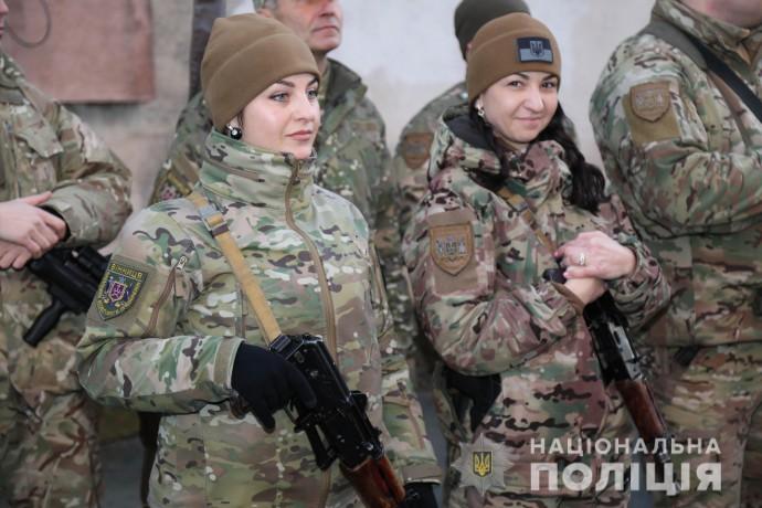 Майже сорок вінницьких поліцейських вирушили на Донбас (Фото)