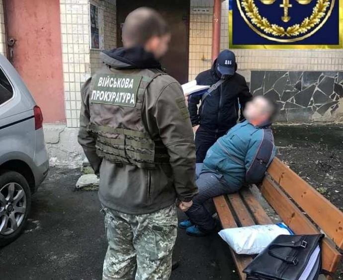 У Вінниці затримали прапорщика-наркодилера (Фото)