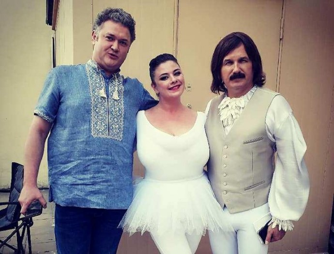 Вінничанка з найбільшим бюстом в Україні знялась у комедії