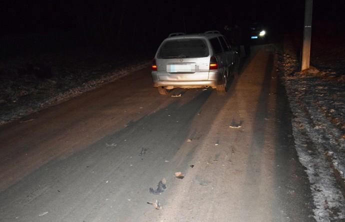У Погребищенському районі пішохід загинув під колесами OpelVectra (Фото)