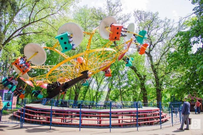 Центральний парк культури та відпочинку у Чернігові реконструюватимуть у кілька черг