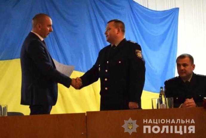 Колишній головний поліцейський Вінниці очолив правоохоронців Жмеринського району (Фото)