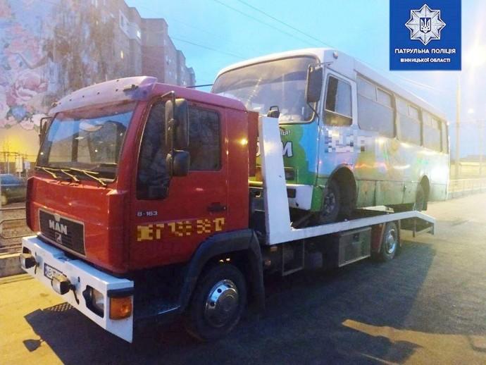 У Вінниці водій маршрутки перевозив людей під дією амфетаміну та канабісу (Фото)