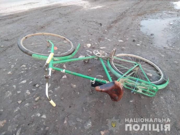 У Козятинському районі п'яний водій наїхав на велосипедиста (Фото)