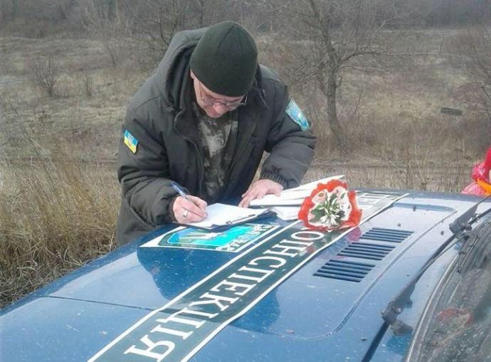 На Вінниччині виявили 5 торговців підсніжниками та первоцвітів (Фото)