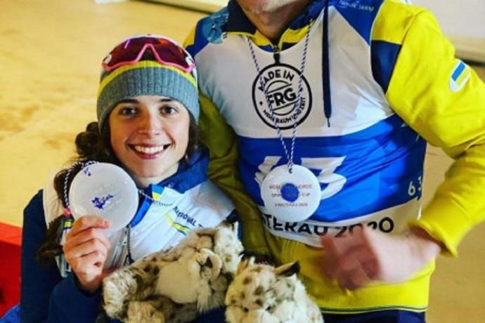 Паралімпійка з Вінниччини здобула дві медалі Кубку світу з біатлону