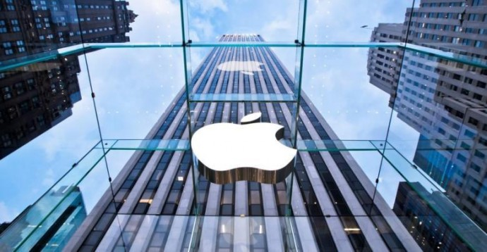 Капитализация Apple опустилась ниже $1 трлн