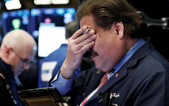 Рынок акций США показал третий худший день в истории