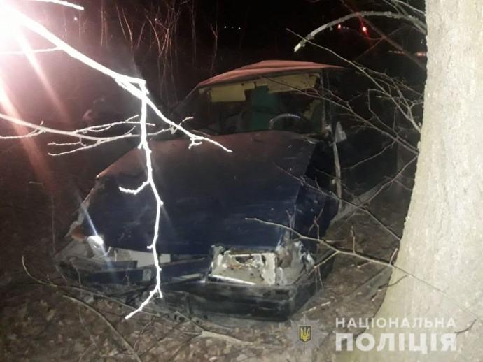 На Вінниччині водій напідпитку злетів з дороги