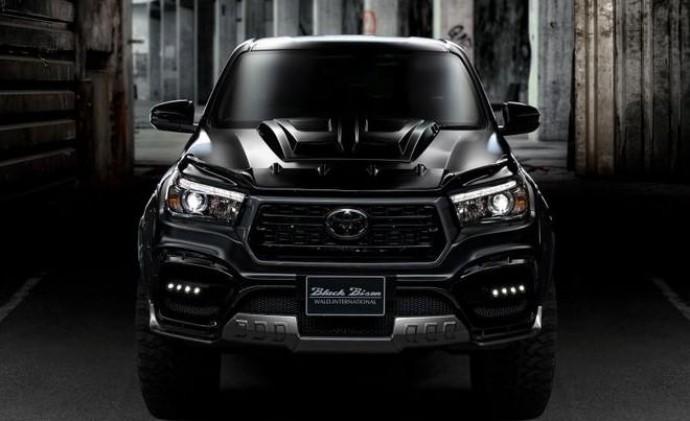 Черный бизон: Toyota показала уникальный пикап