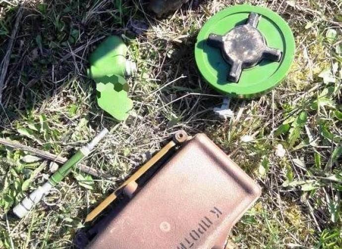 На Вінниччині чоловік ховав гранати та міни у чагарниках