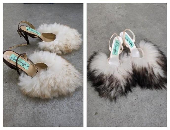 Обувь как искусство: новый тренд — мюли из ковров