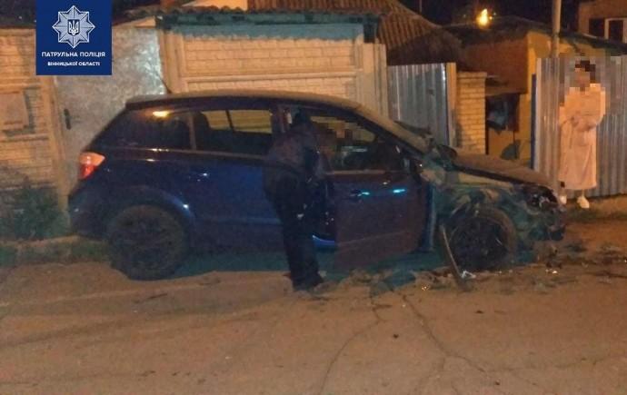 У Вінниці чоловік втік після ДТП та порвав протоколи від патрульних