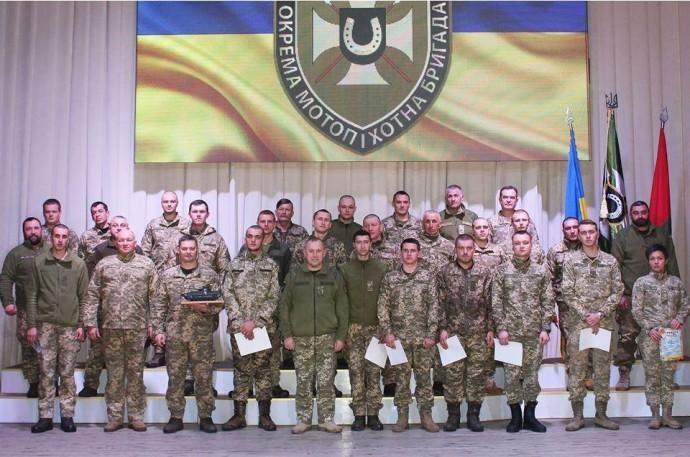 У Вінницькій області 59-ту мотопіхотну бригаду назвали на честь Якова Гандзюка (Фото)
