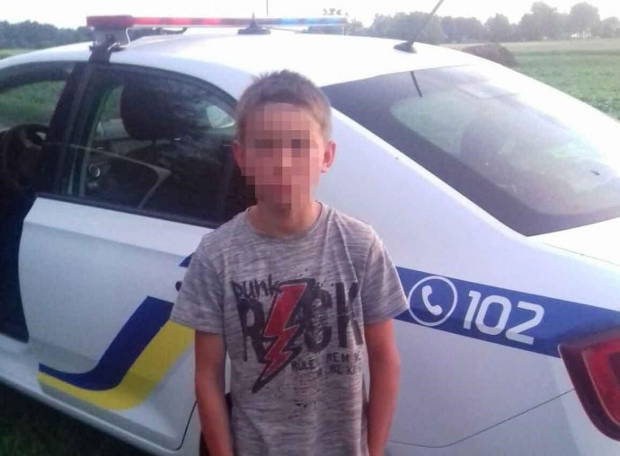 У Хмільницькому районі добу шукали 10-річного школяра