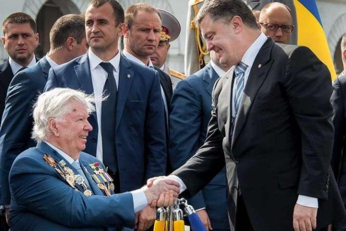 Помер Олексій Порошенко - батько п'ятого президента України