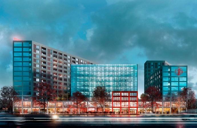 SAN FRANCISCO Creative House — новый комплекс с концептуальной инфраструктурой на проспекте Победы