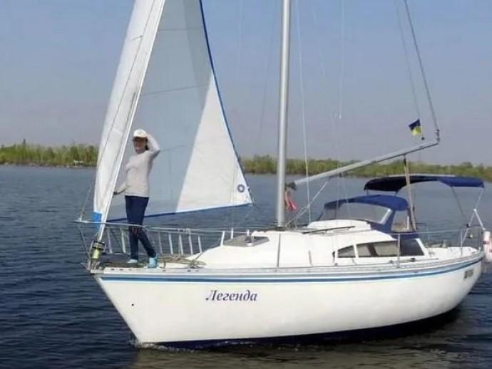 Как взять яхту в аренду для отдыха в Днепре