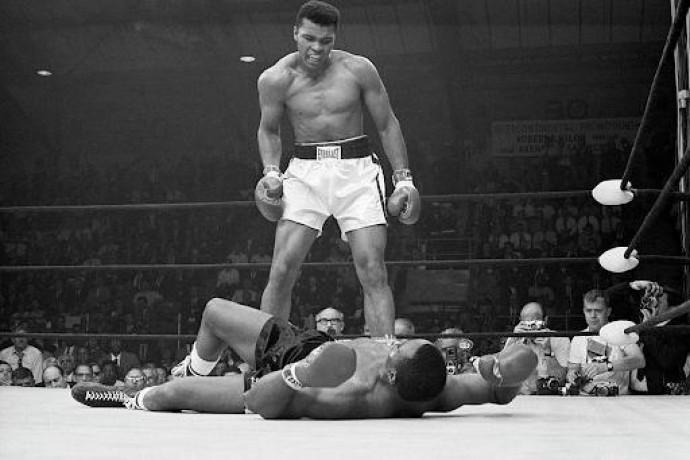 Али против Листона: легендарный нокаут Величайшего!