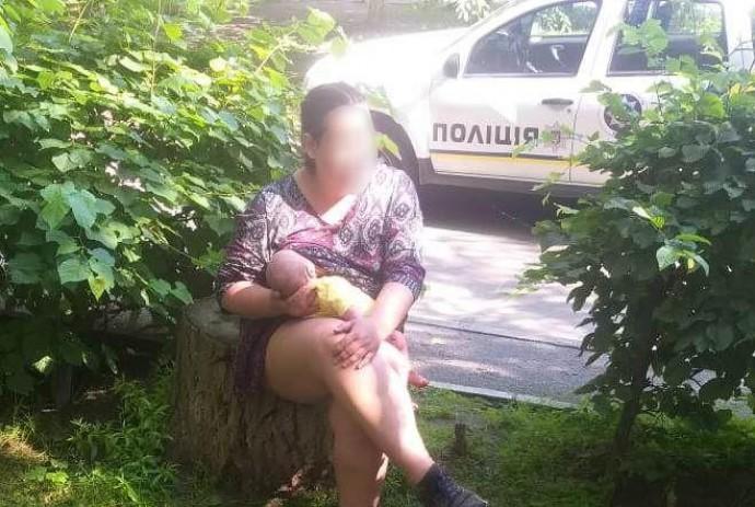 У Вінниці розшукали зниклу матір з немовлям. Жінку доставили до лікарні