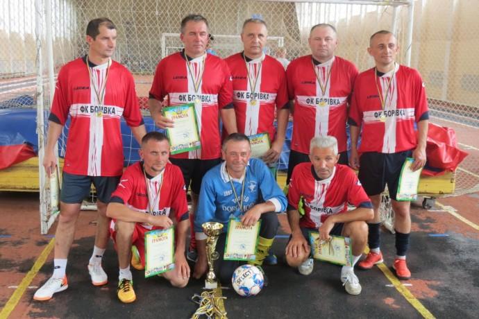 На Вінниччині відбувся обласний чемпіонат з футзалу серед ветеранів (Фото)