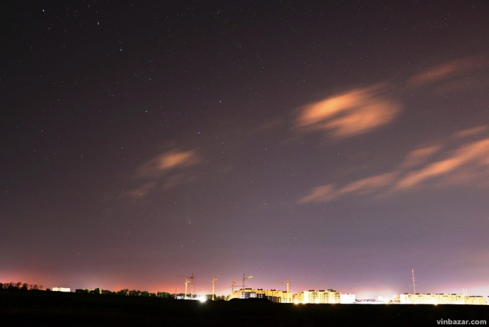 Комета Neowise у небі над Вінницею (Фото)