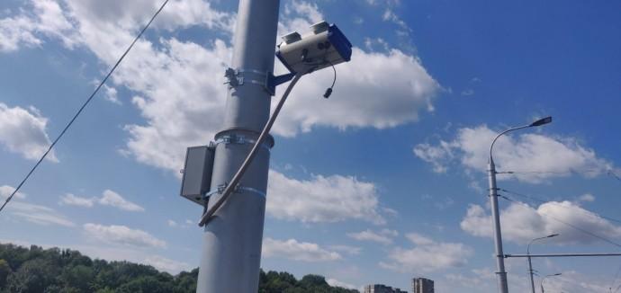На Київському мосту тестують камеру автоматичної фіксації швидкості. Скоро у Вінниці встановлять ще дві