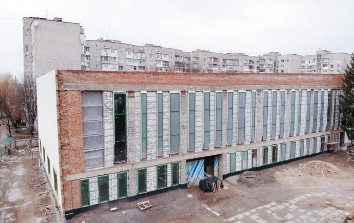 Відкриття спорткомплексу на Янгеля перенесли на 2021 рік