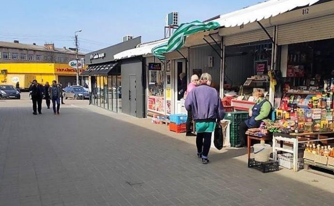 У Могилеві-Подільському через коронавірус закрили ринок