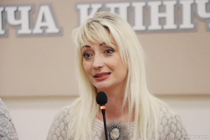 Першим заступником нового голови Вінницької ОДА призначили Наталю Заболотну